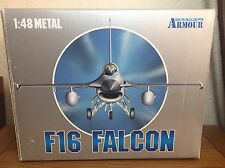 COLLEZIONE ARMATURE 1:48 scala metallo F16 Falcon US Air Force: 98085