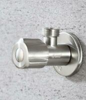 Stainless Steel 304 Shut Off Water Angle Stop Valve for Faucet and Toilet