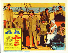 THE WACKIEST SHIP IN THE ARMY 1960 lobby card poster RICKY NELSON/ALVY MOORE