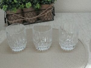 Mikasa Crystal Park Lane Double Old Fashioned Glasses (3)