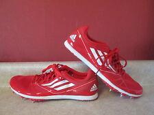 Adidas Adizero Sprint Web Red Adult Shoes Unisex Avanti 2 US 7 Track Field Men's