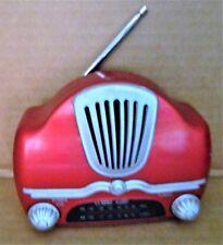 Radio AM / FM Model 682 Electro Brand Classic - Red - Works
