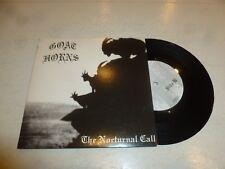 """GOAT HORNS - Black Snakes of Satan - Scarce UK 3-track UK 7"""" vinyl single"""
