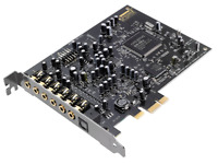 Creative Blaster Audigy Rx - 7.1 PCIe Sound Card High Performance Headphone Amp