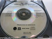 CULT - Sweet Soul Sister   2 Track PROMO CD  Sire PRO-CD-3881