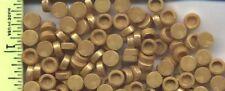 LEGO x 100 Pearl Gold Tile, Round 1 x 1 NEW bulk lot