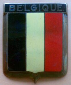 Badge auto car drago 1950s original Belgique Belgium