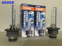 2PCS NEW OSRAM XENARC D4S 66440 6000K OEM HID XENON LIGHT BULBS SET
