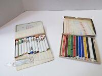 Vintage NuPastel Color Sticks W/Pelikan Sticks Made In Germany