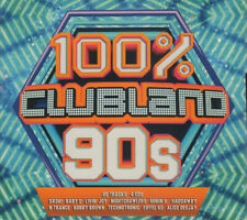 Clubland 100% 90S 4 CDS MIXED
