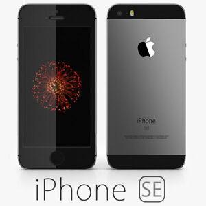 BRAND NEW UNLOCKED APPLE IPHONE SE 32 GB - ROSEGOLD/SPACEGRAY - LTE 4G/GSM/CDMA