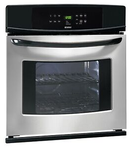 "Kenmore 30"" Electric Single Wall Oven 47833 Stainless Steel"