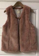 Fux Fur Pink Gilet Zara Girls 13-14 Years
