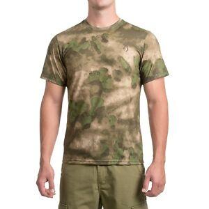 Browning Speed T-Shirt - Short Sleeve  Foliage/Green Camo Size 2XL