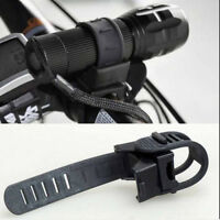 LED Flashlight Torch 360 Degree Bicycle Bike Cycling Mount Holder Clip Clamp TW