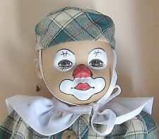 "8"" Vinyl LITTLE Ones CLOWN BILLY by SWISS Artist HEIDI Ott ~ With TAG but NO BOX"