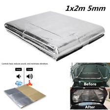 Car Hood Engine Firewall Heat Deadener Sound Insulation Deadening Foil Sticker