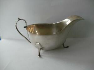 Sterling Silver SAUCE BOAT Sheffield 1932