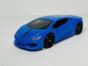 Hot Wheels Lamborghini Huracan LP 610-4 'Loose' Blue