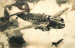 Aircraft Military in Flight 1944 RPPC Photo Postcard 21-1824