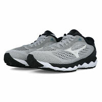 Mizuno Mens Wave Sky 3 Running Shoes Trainers - Grey Sports Breathable