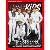 BTS TIME for Kids World Report Edition Coverman April 2020 30page + Tracking#