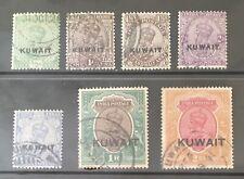 Kuwait. 1923 KGV India Overprints. Fine Used