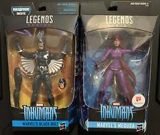Marvel Legends Inhumans Black Bolt Figure NEW Okoye BAF + Walgreens Excl Medusa