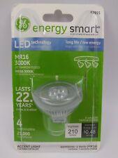 GE 62915 4W (20-watt replacement) MR16 GU5.3 Base 25° Beam LED FloodLight Bulb