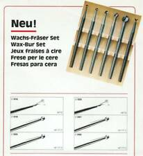 Swiss Wax Bur Set 6 pcs Helix & Round Jewelers Tools Jewelry