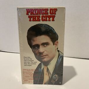 Sealed Prince of the City VHS Action Crime 2 Tape Set Treat Williams Warner