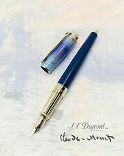 S.T. Dupont Claude Monet Line D Fountain Pen, ST410049L (410049L), New In Box