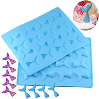 Mermaid Tails 16 Cavities Silicone Mold Chocolate Candy Jelly Molds Cake Deco YK