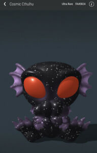 VeVe NFT - Cryptkins ULTRA RARE Cosmic Cthulu, Sold out! #824/2800