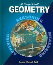 Geometry: Reasoning Measuring Applying, Ron Larson, Good Books