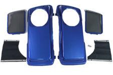 Superior blue color Saddlebag 6*9 Speaker Lids for Harley hard bags 1993-2013