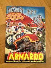 programme circo zirkus cirque NORVEGE ARNARDO 2000