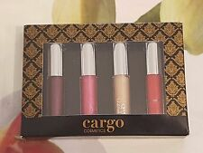 Cargo (Cargo Cosmetics) - Let's Meet In Paris Lip gloss Set  4 x 1.6ml