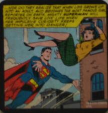 SUPERMAN - SOTTOBICCHIERE SOTTOBICCHIERI DI BIRRA SOTTOBICCHIERI NUOVO (C151)