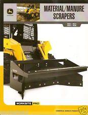 Equipment Brochure - John Deere - MS60 et al Material Manure Scraper 08 (E1643)
