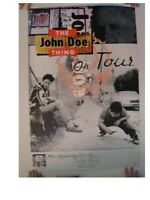 The John Doe Thing Poster Tour X