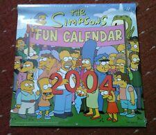 THE SIMPSONS FUN CALENDAR 2004- UNOPENED