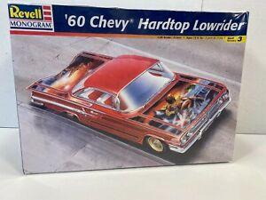 Revell-Monogram '60 Chevy Impala Hardtop Lowrider 1:25 Model Kit NEW SEALED