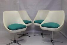 4 fauteuils pivotant vintage années 60, 70