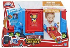 Transformers Rescue Bots Playskool Heroes Flip Racer Trailer Playset