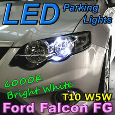 #F01 T10 W5W White LED Bulbs to fit Ford Falcon Parking Lights Parker BA BF FG