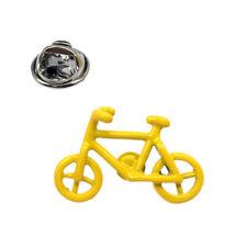 Yellow Bicycle Lapel Pin Badge - X2AJTP841