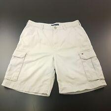 Tommy Hilfiger  Mens Cargo Shorts W33 L10 Beige Regular Fit  High Rise