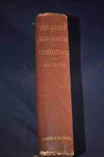 1875 *FIRST* The Might and Mirth of Literature A Treatise on Figurative Language
