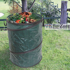 Pop up Large Heavy Duty Strong Garden Waste Refuse Rubbish Bag Sack 108 Ltr